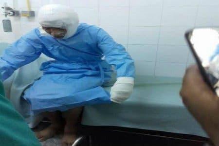 "Photo of طالب يضرم النار في جسده بالبيضاء احتجاجا على ""المدير"""