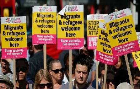 Photo of تقرير: نبرة معاداة المهاجرين في أوروبا تزداد حدة