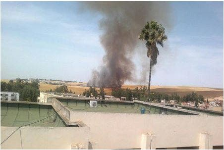 Photo of سطات .. حريق مهول يلتهم الحقول قبالة عمالة المدينة