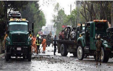 Photo of قتلى وجرحى في تفجير بالقرب من السفارة الأميركية بكابل