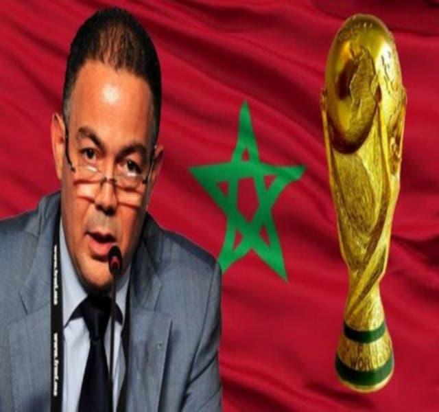 "Photo of لقجع: ""المونديال حلمنا و إفريقيا تدعمنا و الكاف منخرطة في مشروعنا"""