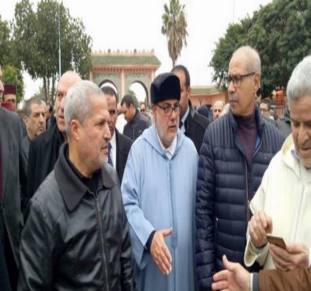 Photo of العماري وبنكيران ولشكر وآخرون يشيعون جثمان الوزير العراقي إلى مثواه الأخير