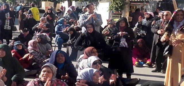 "Photo of مسيرة احتجاجية حاشدة لعاملات "" سيكوم"" في مكناس"