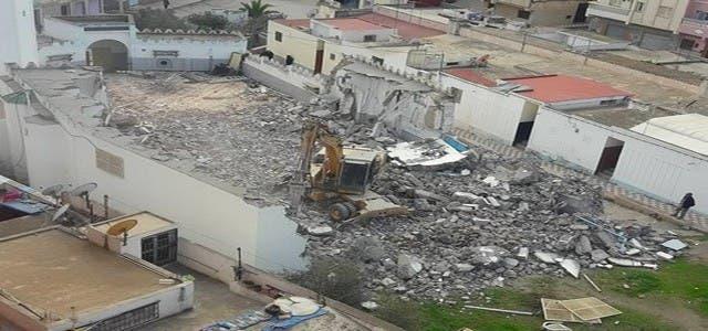 "Photo of عملية هدم مسجد ""الزفزافي"" تدخل ضمن مشاريع الحسيمة منارة المتوسط"
