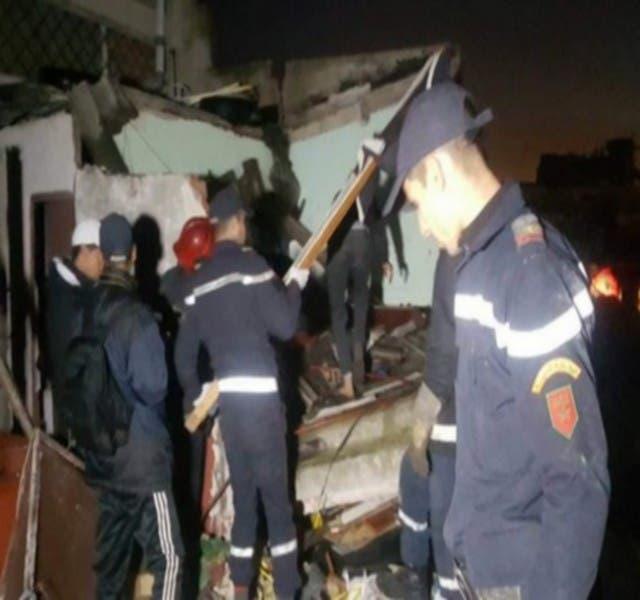 Photo of وفاة شخص جراء انهيار منزل في البيضاء