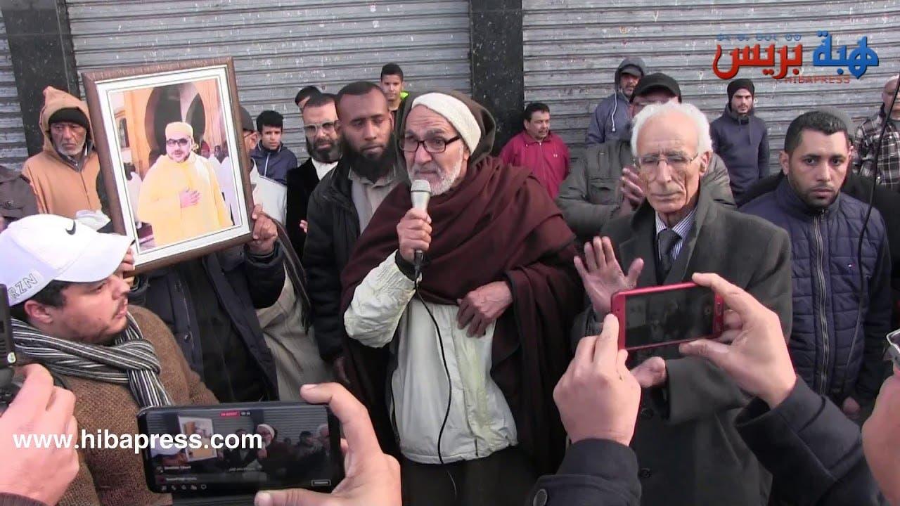 Photo of احتجاج ضد منح رخصة لإفتتاح محل لبيع الخمور بحي شعبي