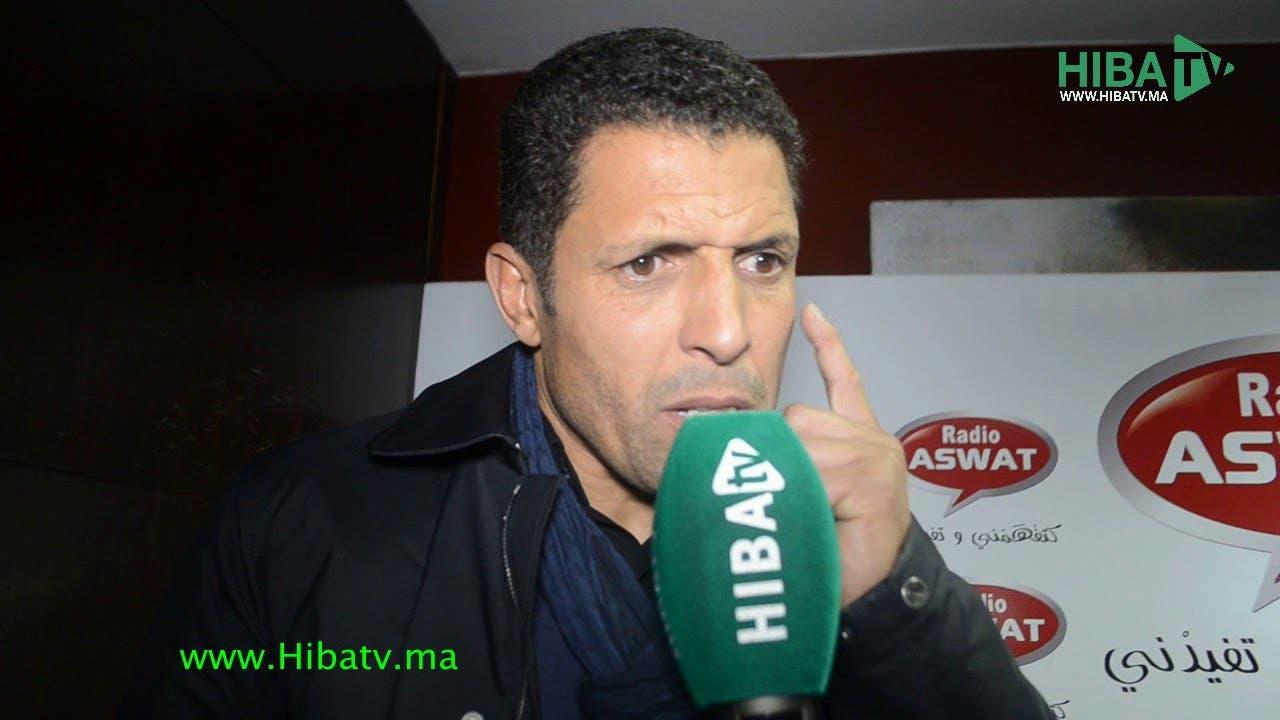Photo of هل سيدرب الحسين عموتة فريق الرجاء البيضاوي؟ الأخير يجيب.