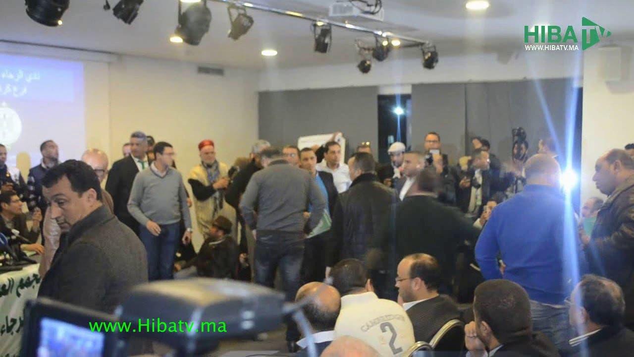 Photo of فوضى عارمة أثناء التصويت على التقريرين المالي والأدبي للرجاء البيضاوي