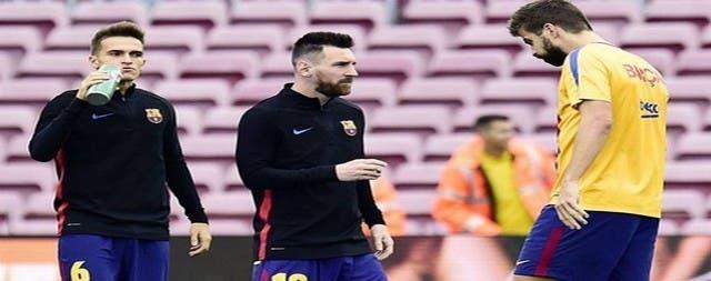 Photo of لاعبان من برشلونة كانا حاضران في مباراة يوفنتوس وتوتنهام