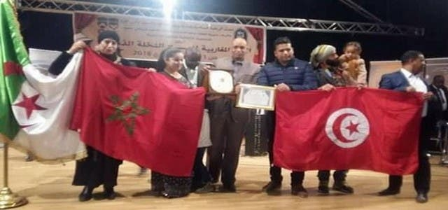 Photo of بقلب الجزائر… أنفاس تايمة تتوج بالجائزة الكبرى لمهرجان النخلة الذهبية للمسرح المغاربي