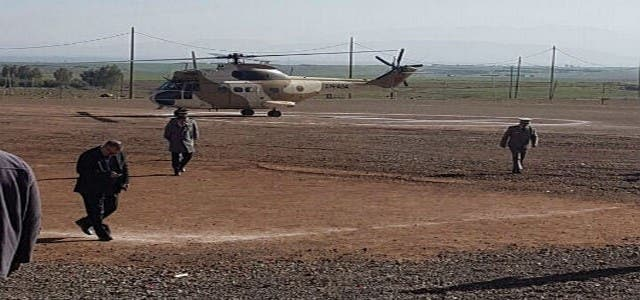 Photo of نقل سيدة في حالة حرجة للمستشفى بمراكش على مثن مروحية عسكرية