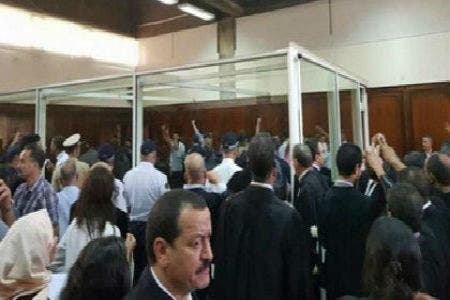 """Photo of المهداوي للقاضي :""""أطرووود.."""" ورفاق الزفزافي ينسحبون والوكيل :""""البوز غير مقبول"""""""