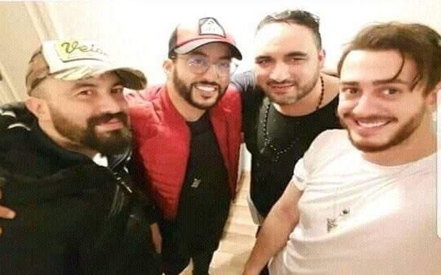 "Photo of جلال الحمداوي..  سعد لمجرد عاد للمغرب و ""شربنا كاس ديال أتاي معاه"""