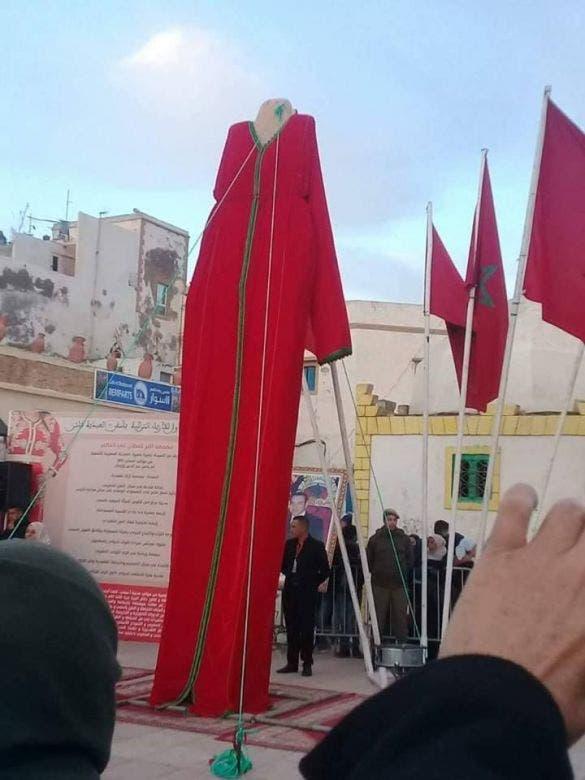 Photo of آسفي تدشن أكبر قفطان ونشطاء يستهزؤون