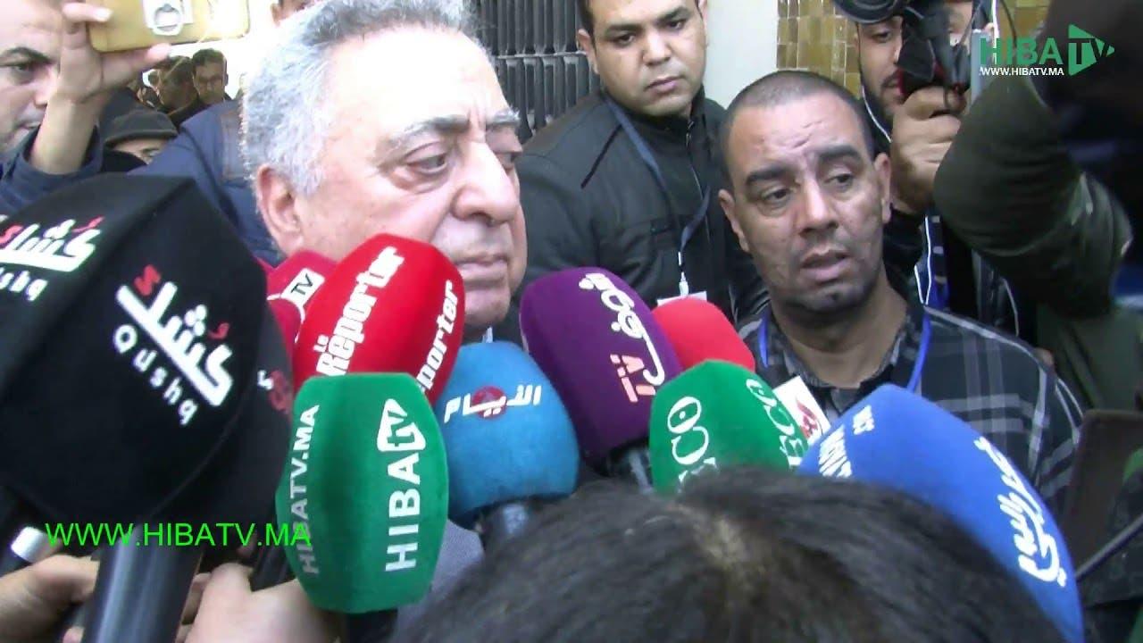 Photo of زيان يتحدث عن شكايتين، واحدة ضد الفرقة الوطنية  وأخرى من بوعشرين ضد الوكيل العام بالبيضاء