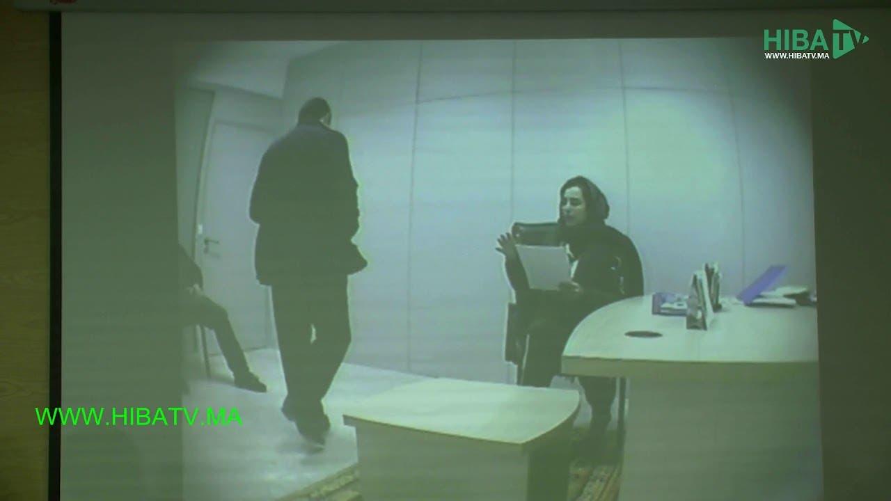 """Photo of حصري:  الفيديو الذي أدلت به الفرقة الوطنية للوكيل العام وهو يظهر المشتكية """"برناني"""" توقيع على المحضر"""