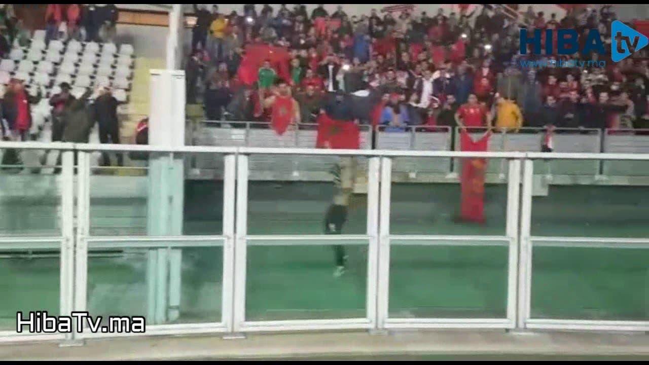 Photo of هدف حكيم زياش من زاوية أخرى وتفاعل رهيب للجماهير