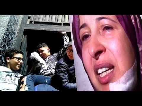Photo of البيضاء : التلميذ الذي شرمل أستاذته يخرج من السجن وأبناء الحي يحتفلون