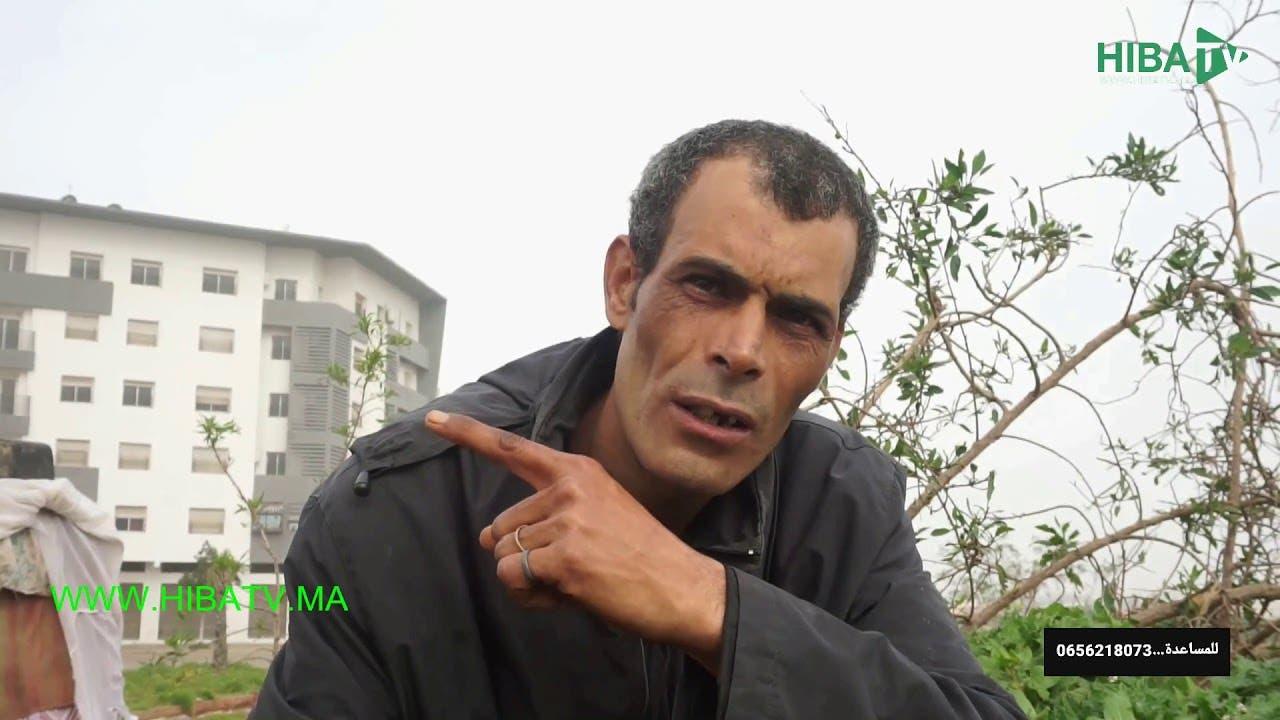 Photo of مؤثر : عامل بناء يعيش في عشة بقلب الدار البيضاء