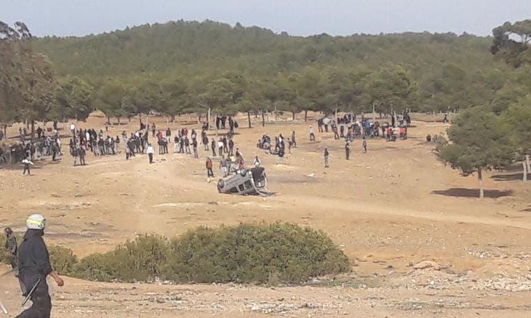 Photo of القاصر المصاب في أحداث جرادة تغيب عن الدراسة وشارك بالاحتجاجات + وثيقة
