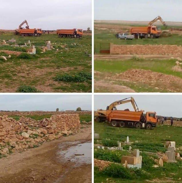 Photo of فضيحة.. سرقة أتربة مقبرة بالسراغنة والساكنة تتهم رئيس الجماعة