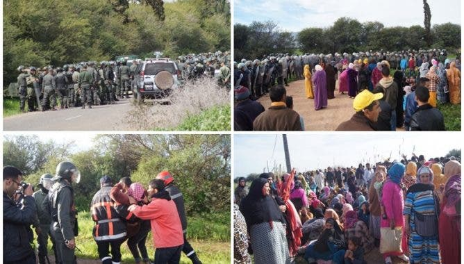 Photo of إصابات واعتقالات في تدخل أمني لفض اعتصام ضواحي الفقيه بن صالح