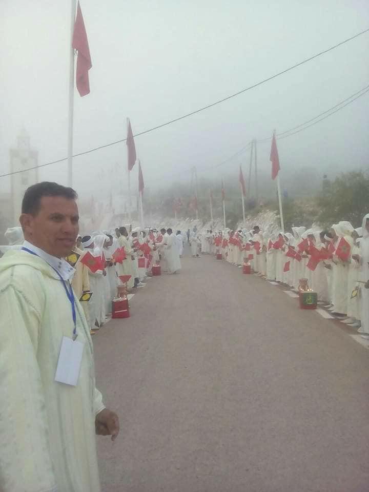 """Photo of استقبال """"الملوك"""" للشيخ مصطفى بنحمزة في مهرجان قرآني بسوس- صور-"""