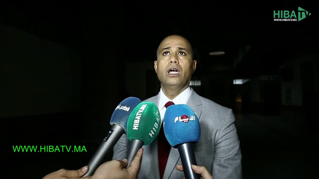 """Photo of طارق زهير محامي وداد ملحاف :""""موكلتي متضررة من توفيق بوعشرين """""""