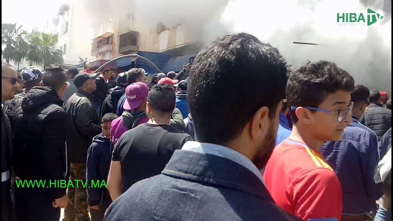 """Photo of حريق خطير يأتي على عمارة سكنية بالتشارك سيدي مومن والسبب """"مول لمطربات"""""""