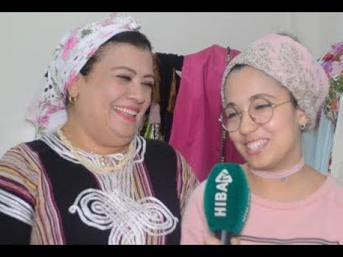 "Photo of شاهد مدى التفاهم بين الممثلة سعاد العلوي وابنتها ""البوكوصة"" التي تظهر لأول مرة"