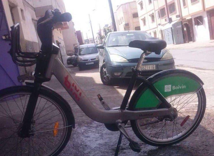"""Photo of اندهاش بسبب العثور على دراجة كندية """"ضائعة"""" بالمغرب"""