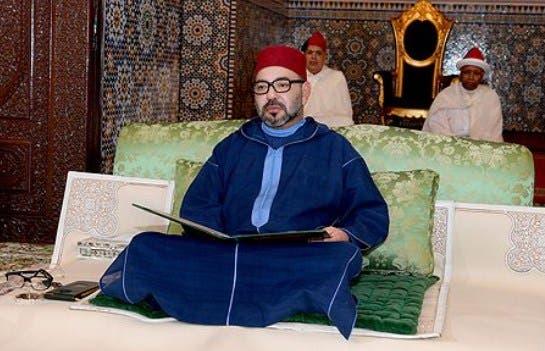 Photo of أمير المؤمنين يترأس الدرس الرابع من سلسلة الدروس الحسنية