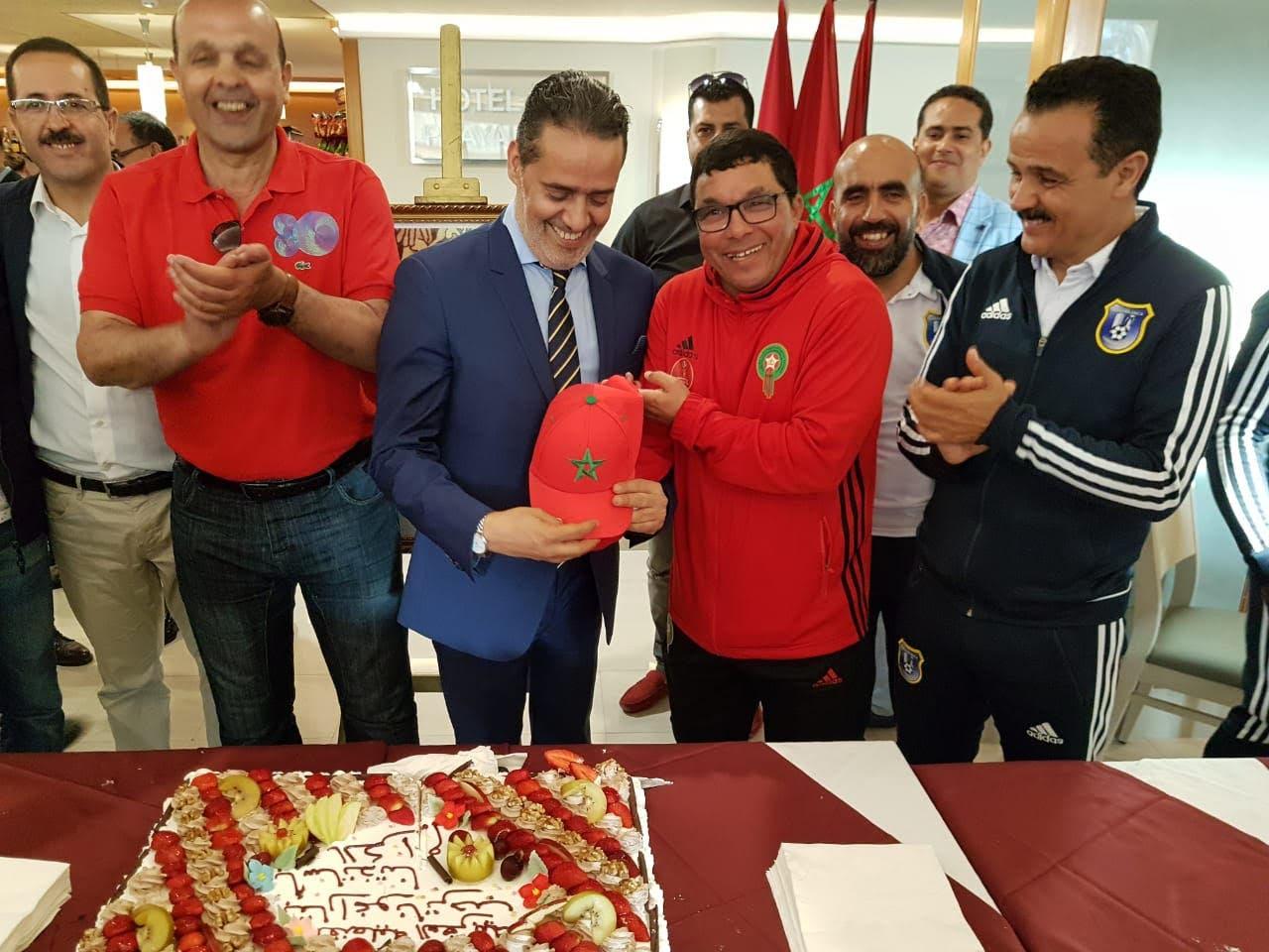 "Photo of القنصل العام ب""طاراغونا""يستقبل نقباء ومحامين مغاربة"