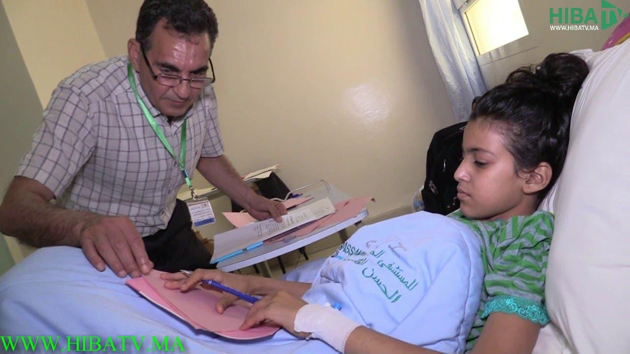 Photo of بالفيديو…تلميذة تجتاز امتحانات السادس ابتدائي داخل مستشفى الحسن الثاني بفاس