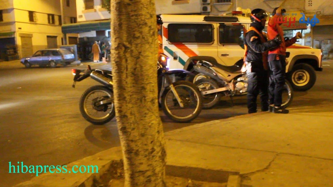 Photo of هبة بريس تخرج ليلا إلى المناطق الشعبية بأكادير وترصد الاعتقالات الأمنية للخارجين على القانون