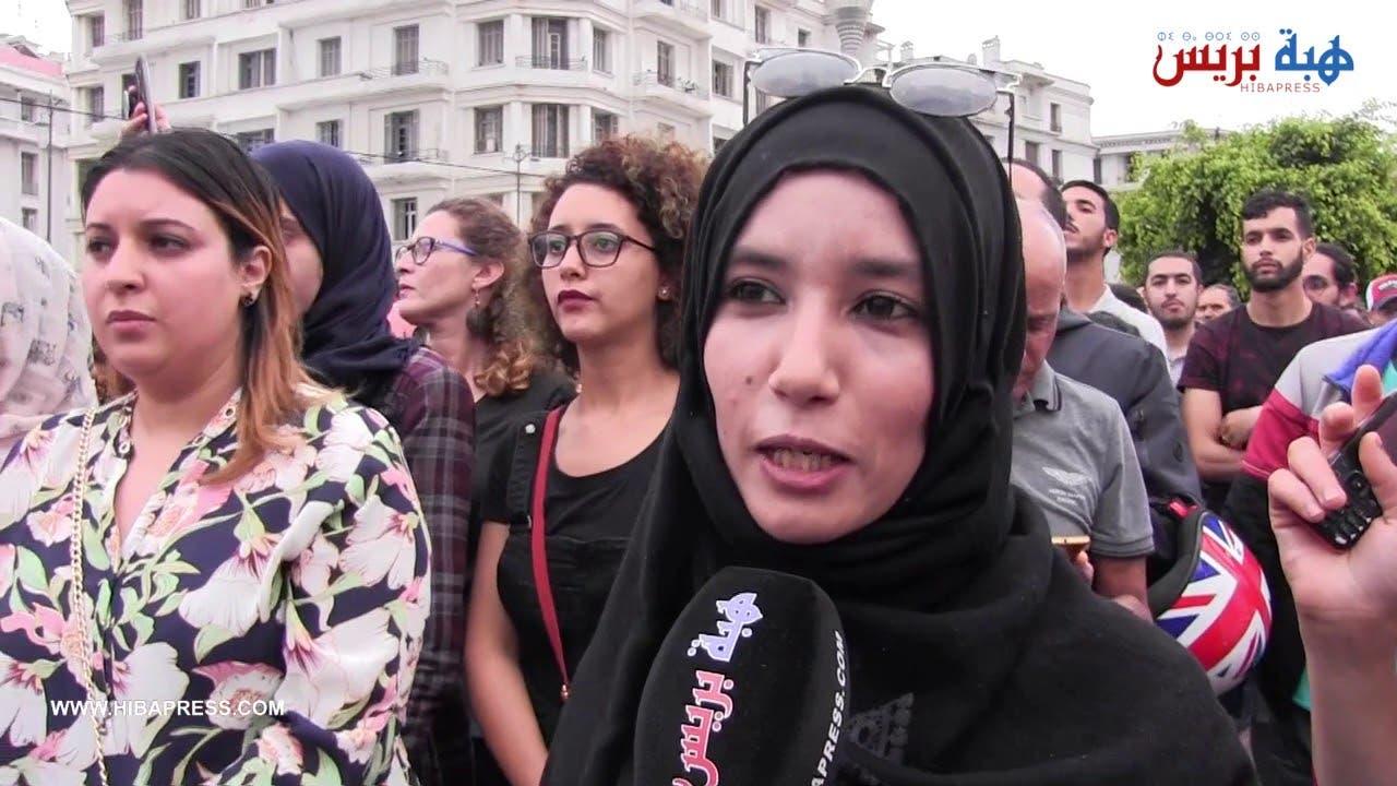 Photo of الأحكام القاسية ضد معتقلي حراك الريف تخرج نشطاء البيضاء للاحتجاج