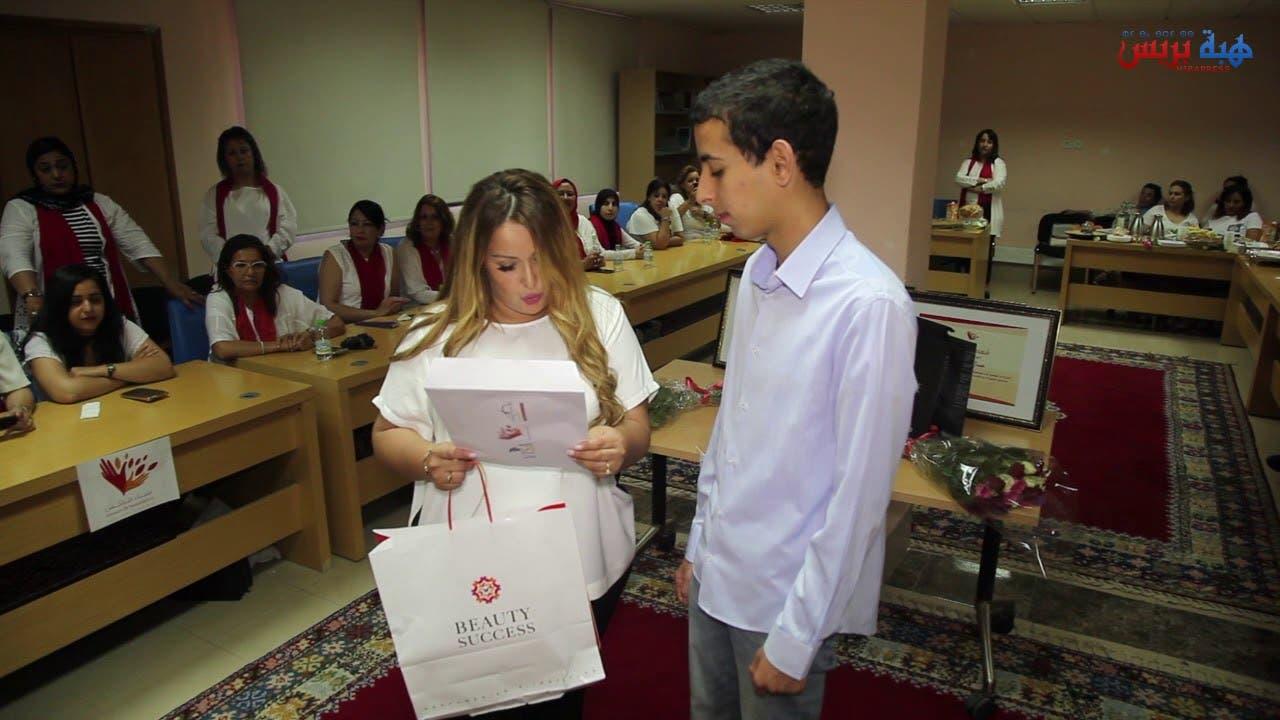 Photo of جمعية نساء مراكش تحتفل بالتلميذ صاحب اعلى معدل على الصعيد الوطني