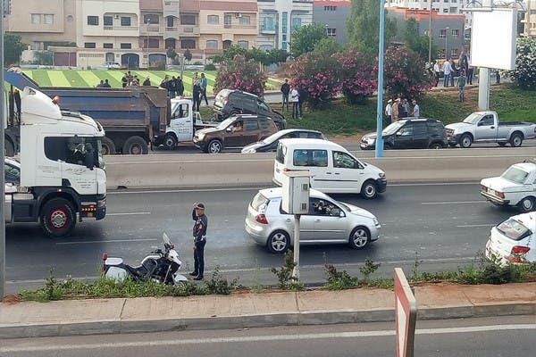 Photo of باشا ممتاز يلقى حتفه بالبيضاء بعد رشق سيارته بالحجارة