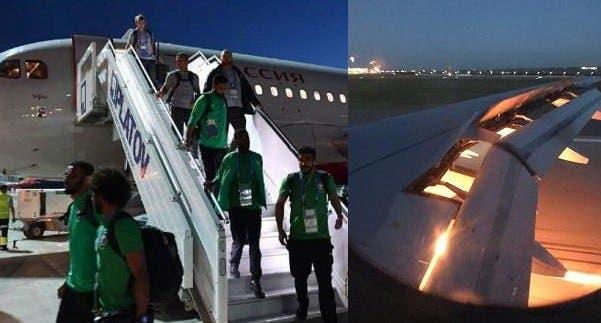 "Photo of ""طيران روسيا"" توضح تفاصيل حادث طائرة منتخب السعودية"