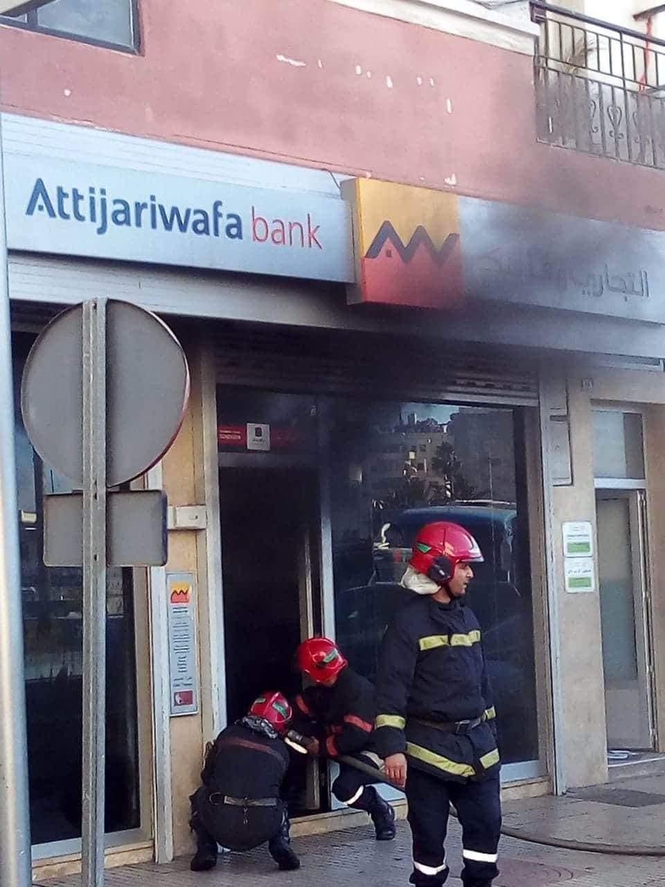 Photo of حريق مهول يندلع بوكالة بنكية بالبيضاء .. وهذه التفاصيل