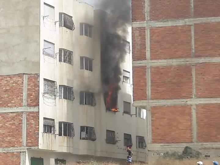 Photo of عاجل …تسرب للغاز يتسبب في حريق مهول بأحد المنازل بتطوان