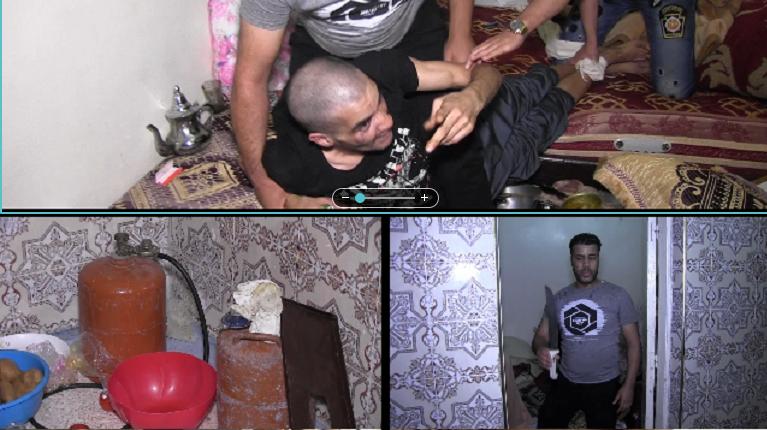 """Photo of خطير .. """"مجنون"""" يحتجز نفسه داخل منزل بالبيضاء ويهدد المواطنين بتفجير """"بوطة"""""""