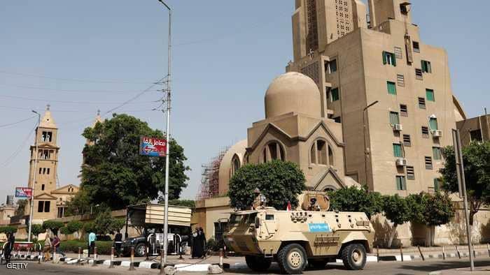 Photo of إحباط هجوم على كنيسة في القاهرة ومقتل منفذه