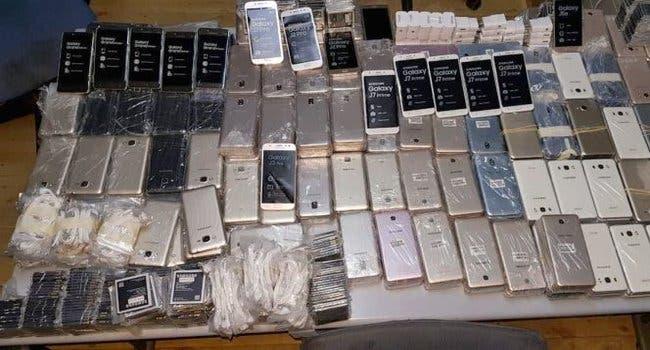 Photo of احباط تهريب 670 هاتف ذكي بميناء طنجة المتوسط