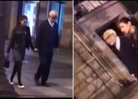 """Photo of الريسوني :"""" ظهور يتيم في باريس مع خطيبته مشكلة وإن تَراجَعْ مشكلة"""""""