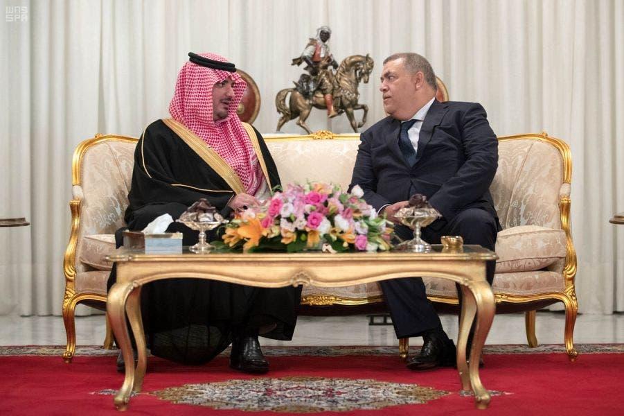 Photo of وزير الداخلية السعودى يصل المغرب فى زيارة رسمية ( صور )