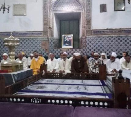 Photo of أمسية دينية بضريح الشيخ البوعزاوي بمراكش