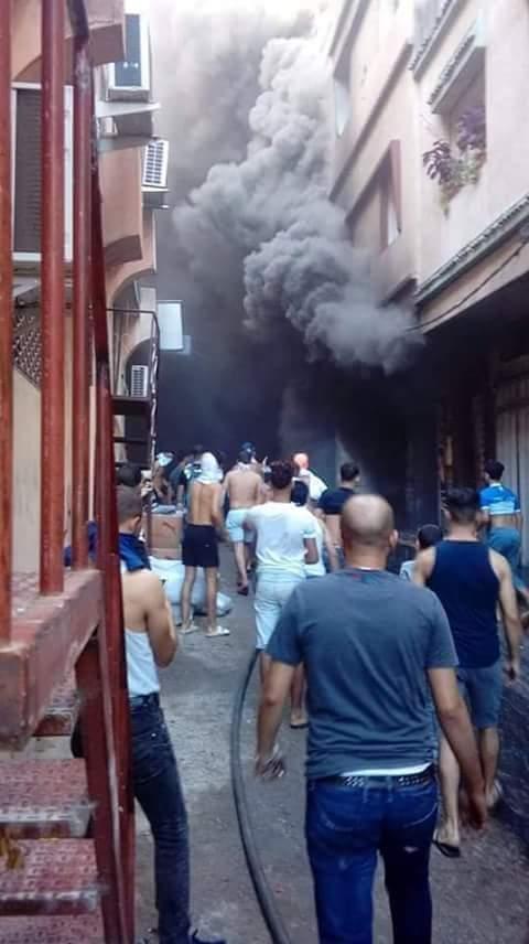 Photo of نشوب حريق مهول بمحيط قيسارية بطنجة (صور)