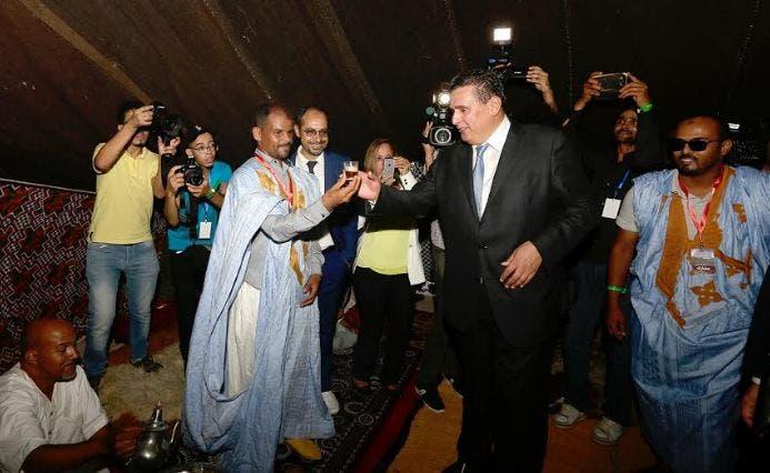 Photo of أخنوش يترأس حفل افتتاح  النسخة الثالثة من المعرض الوطني للمراعي