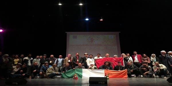 Photo of افتتاح مهرجان عين أسردون الدولي للفنون التشكيلية